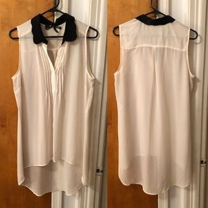 Ali & Kris Sheer Tunic Tank Blouse